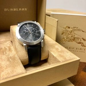 Burberry Chronograph Black Men's Watch